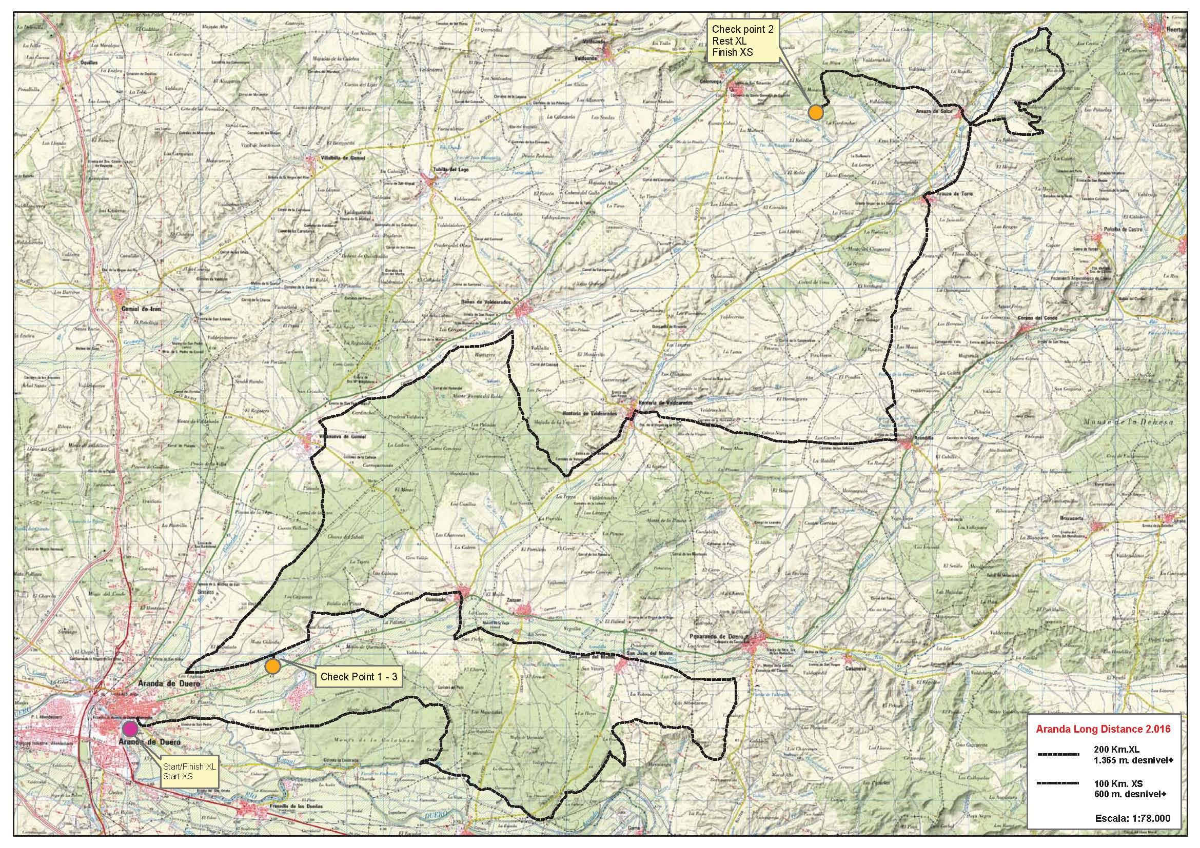 Mapa SLD 2016 Aranda
