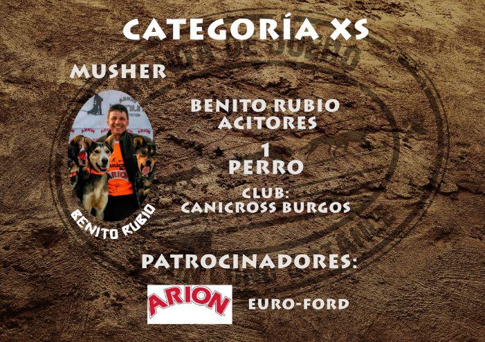 Benito Rubio SLD 2016 Versión XS