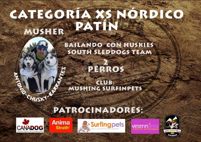 Antonio Barrantes SLD 2016 Versión XS Nórdicos